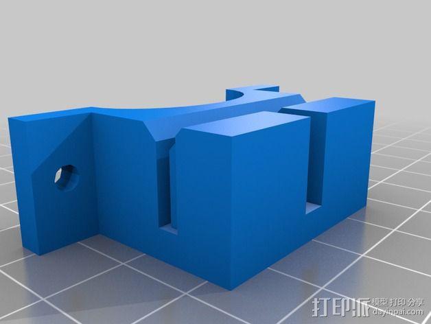 支撑器 3D模型  图1