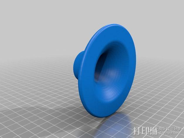 扩音器 3D模型  图2