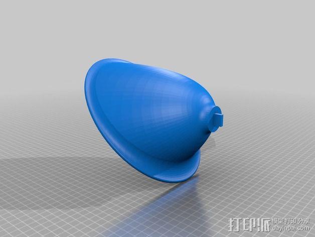 扩音器 3D模型  图3