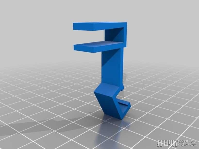 宜家二极管支架 3D模型  图3