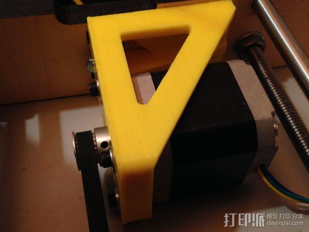 电动支架 3D模型  图1