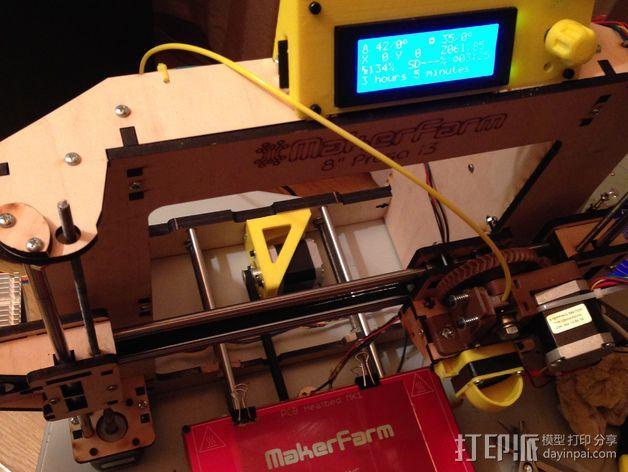 电动支架 3D模型  图3