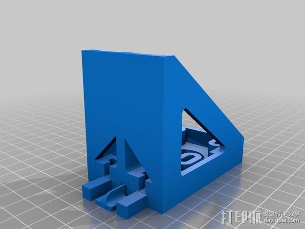 电动支架 3D模型  图2