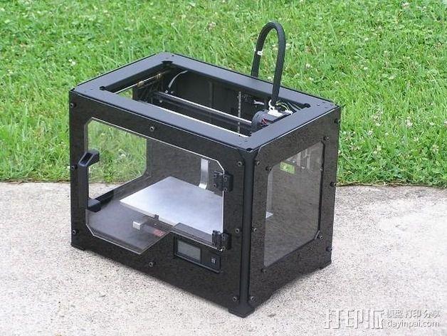 打印机适配器 3D模型  图1
