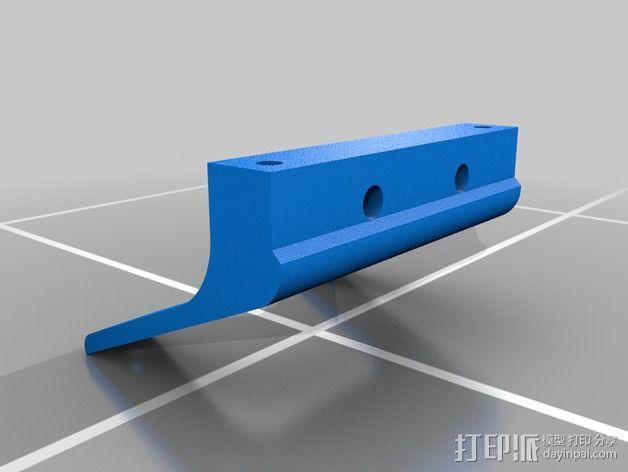 打印机适配器 3D模型  图4