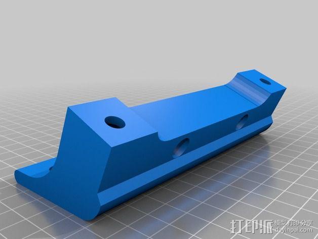 打印机适配器 3D模型  图3