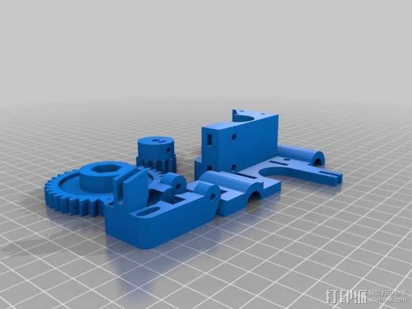 3D打印机适配器 3D模型  图4