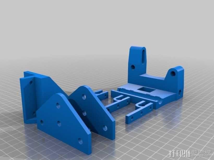 3D打印机适配器 3D模型  图3