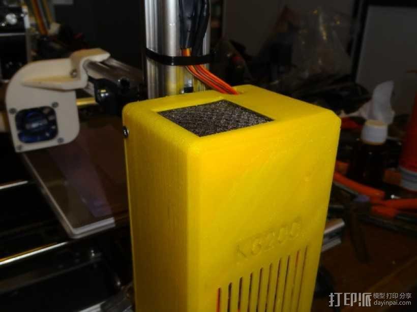 K8200控制面板 3D模型  图1