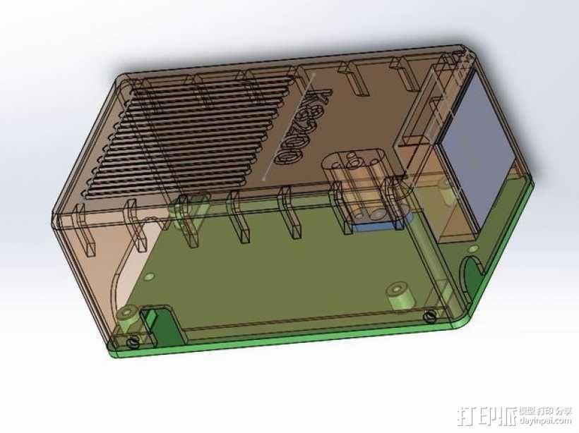 K8200控制面板 3D模型  图2