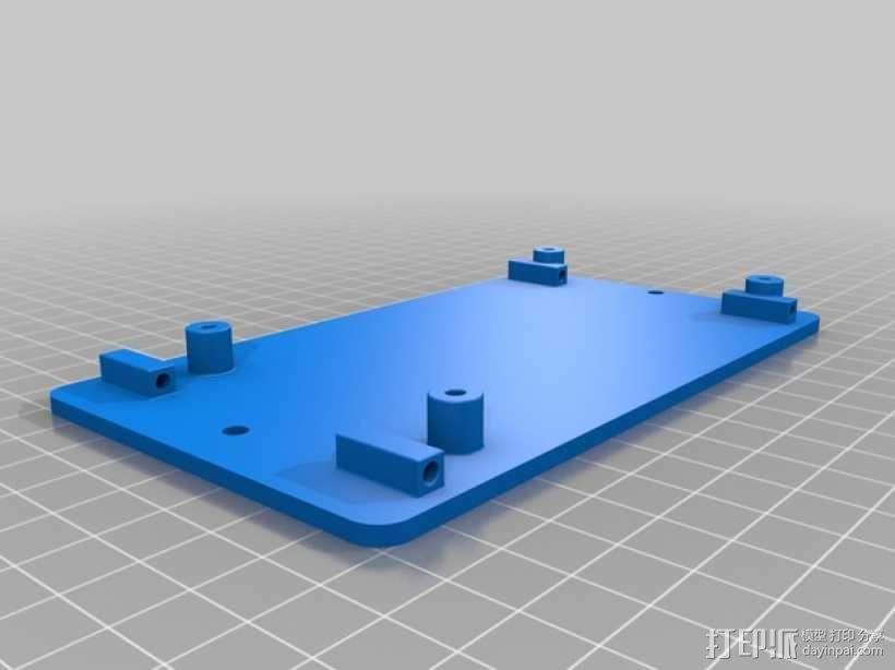 K8200控制面板 3D模型  图6
