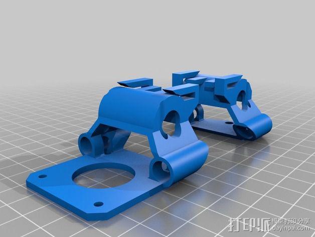 X-ENDS适配器 3D模型  图2