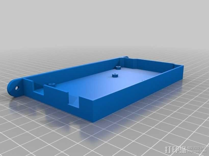 Mega-2560盒子 3D模型  图4