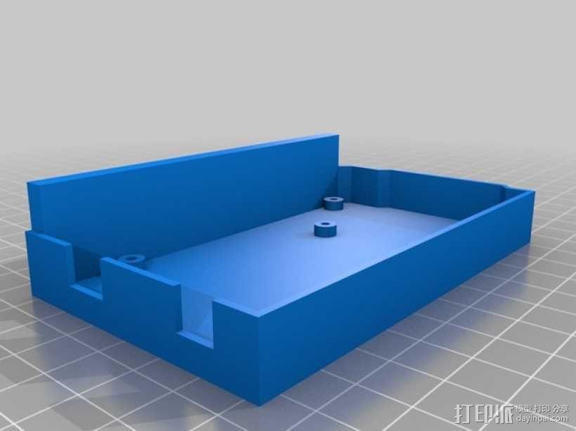 Mega-2560盒子 3D模型  图3