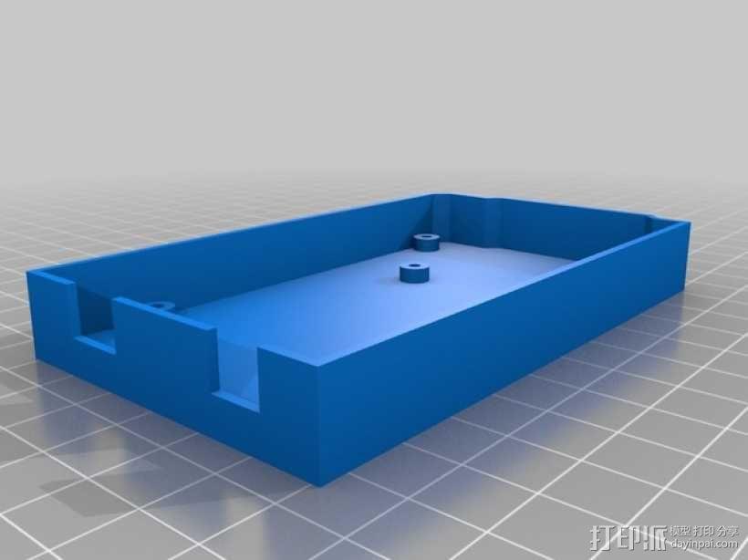 Mega-2560盒子 3D模型  图5
