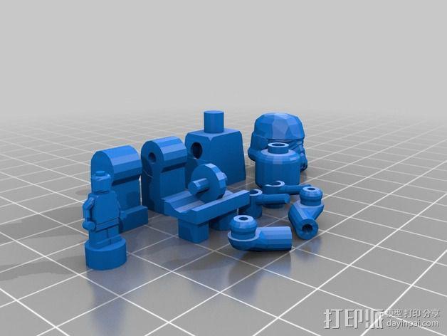 乐高人物摆件 3D模型  图2