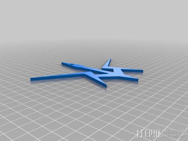黑骑士吊坠 3D模型  图1