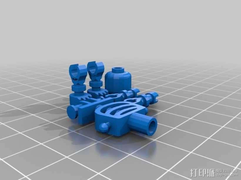 乐高摆件 3D模型  图1