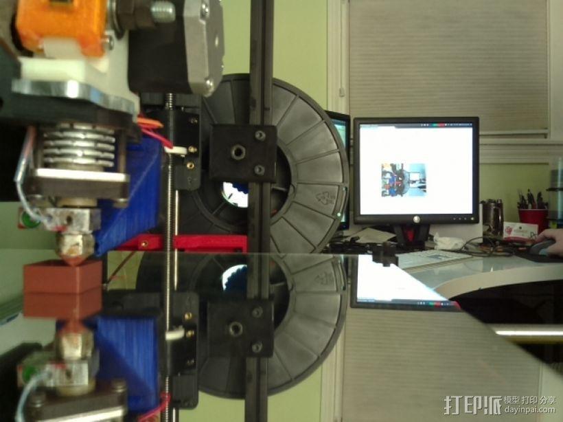 Raspberry Pi 相机适配器 3D模型  图4