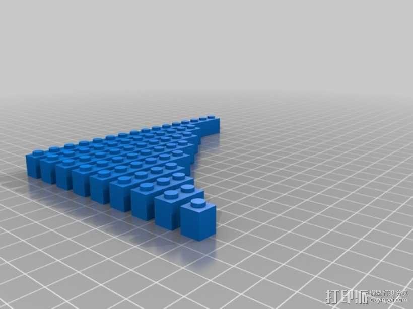 乐高积木 3D模型  图1