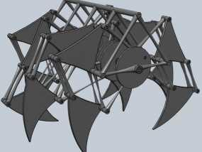 沙滩怪兽摆件 3D模型