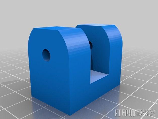 Y轴拉紧器 3D模型  图3