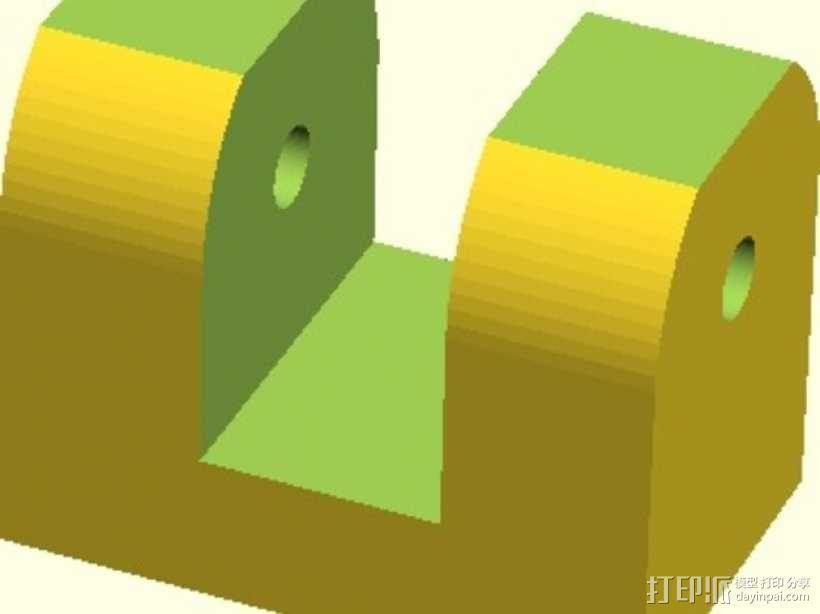 Y轴拉紧器 3D模型  图1