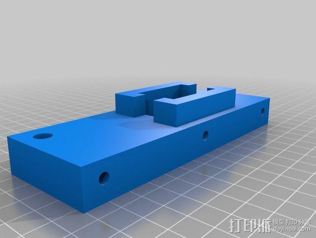 Y轴拉紧器 3D模型  图2