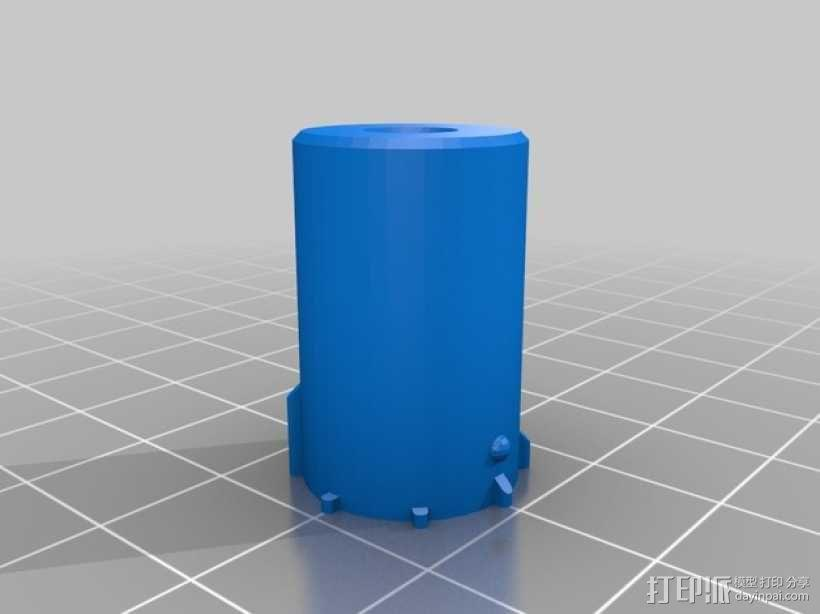 Z轴适配器 3D模型  图5