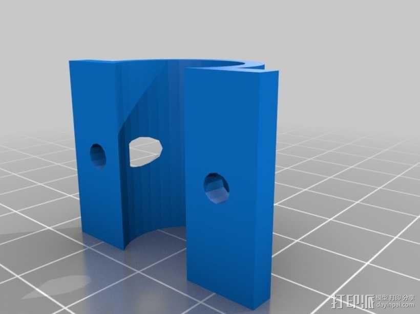 Prusa I3适配器 3D模型  图5