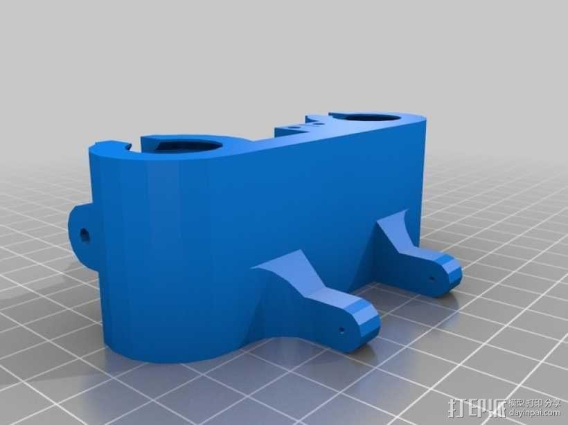 马车配件 3D模型  图2