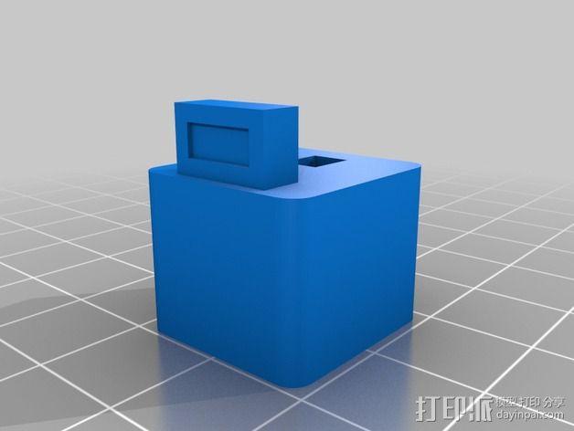 灯丝指引器 3D模型  图2