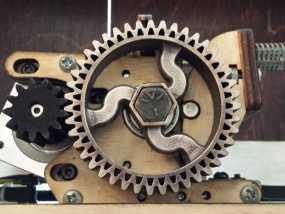 挤出器齿轮 3D模型