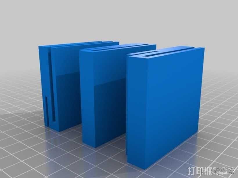 Solidoodle 3适配器 3D模型  图1