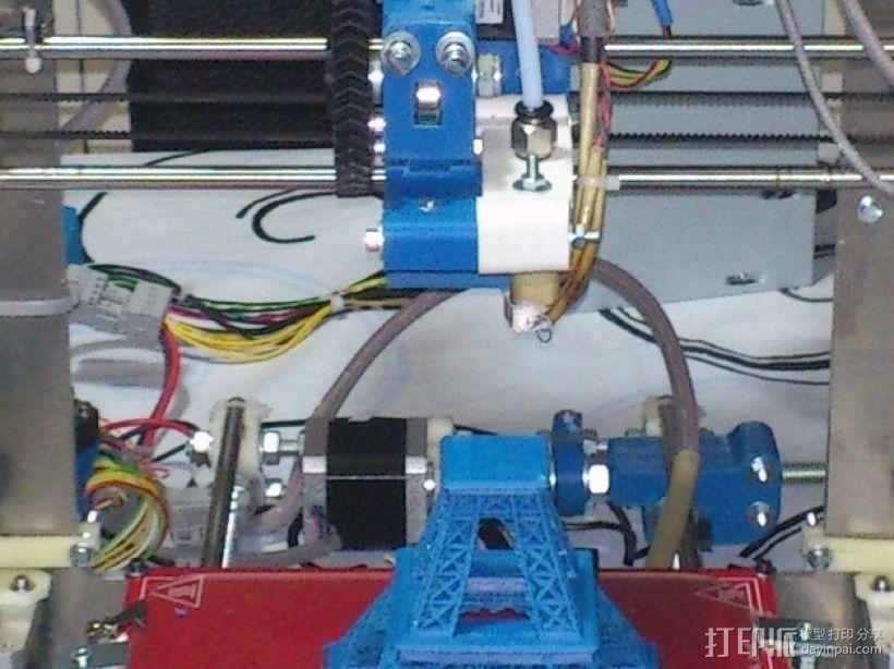 Prusa 3 挤出器 3D模型  图1