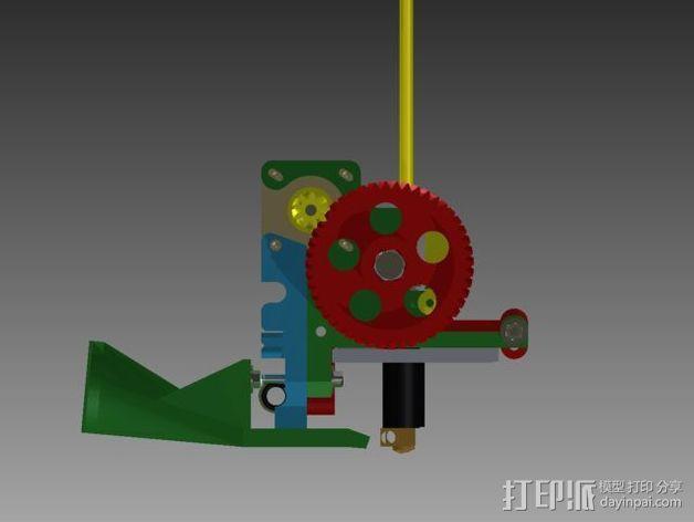 Prusa 3 挤出器 3D模型  图3