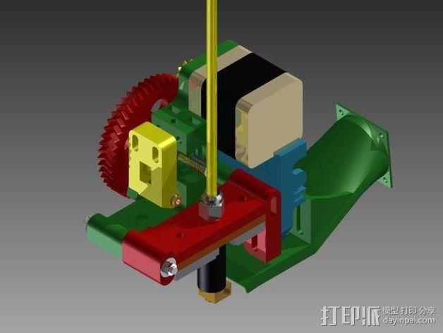 Prusa 3 挤出器 3D模型  图6