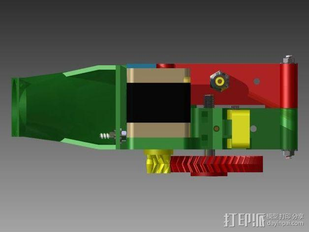Prusa 3 挤出器 3D模型  图9
