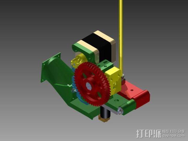 Prusa 3 挤出器 3D模型  图4