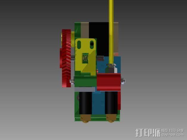 Prusa 3 挤出器 3D模型  图5
