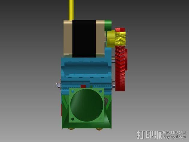 Prusa 3 挤出器 3D模型  图8