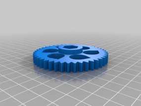 螺母 3D模型