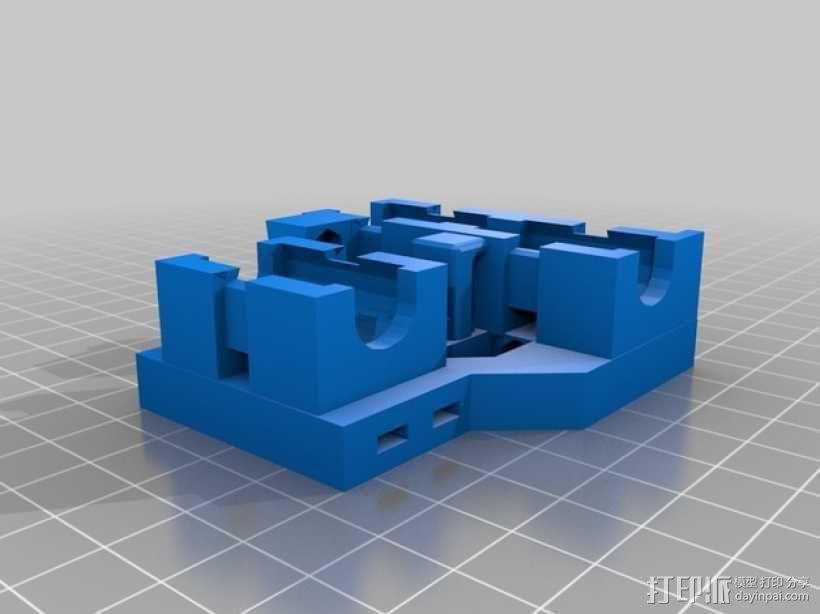 LM8UU适配器 3D模型  图2