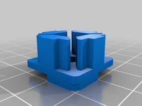 连接板 3D模型