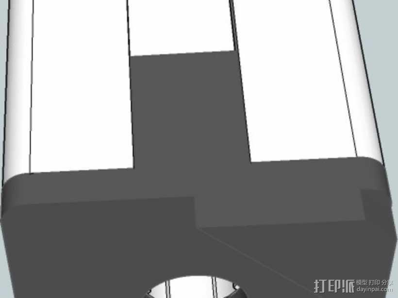 连接板 3D模型  图7