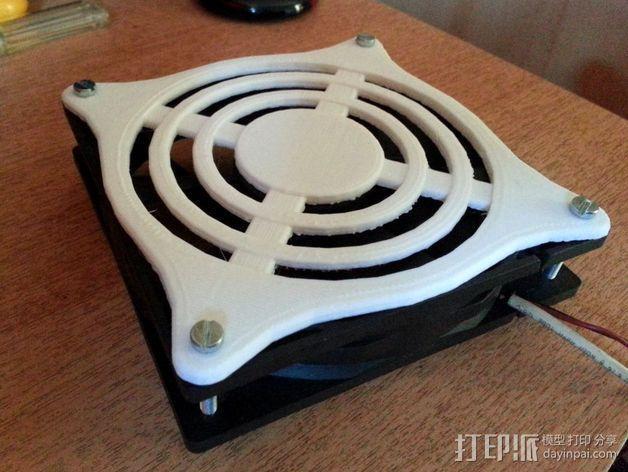 风扇保护器 3D模型  图1