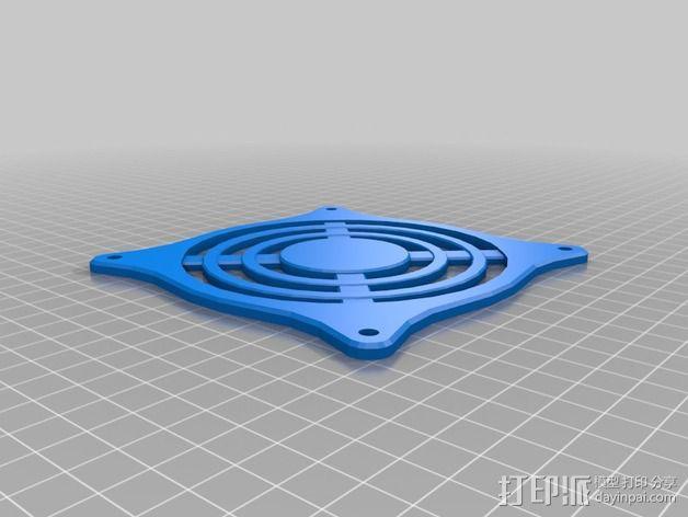 风扇保护器 3D模型  图3