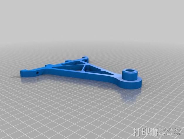 线丝支架 3D模型  图2