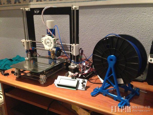 线丝支架 3D模型  图4