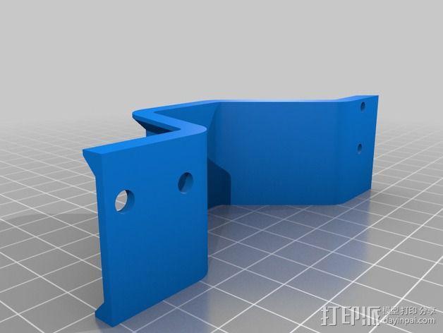 Y轴桥架 3D模型  图2